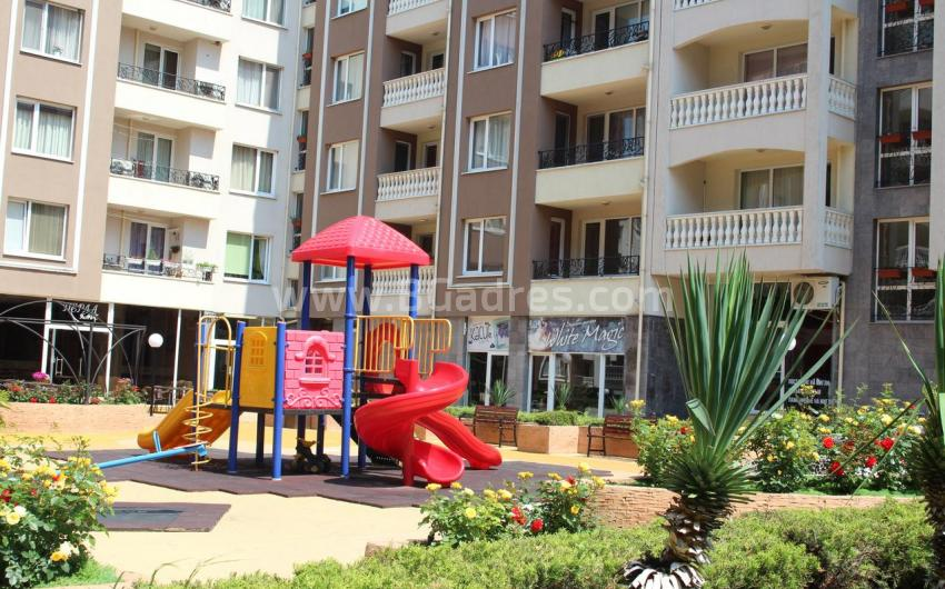 One-bedroom apartment with furniture in Burgas