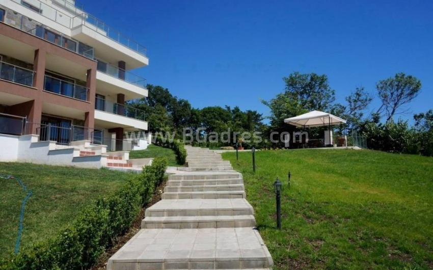 Two-bedroom apartment on the first line in Byala