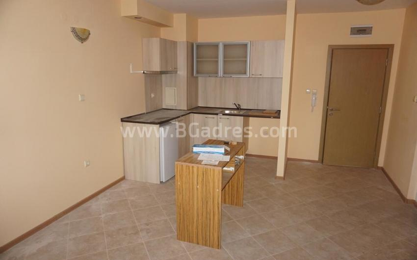 Large studio or small one-bedroom apartment