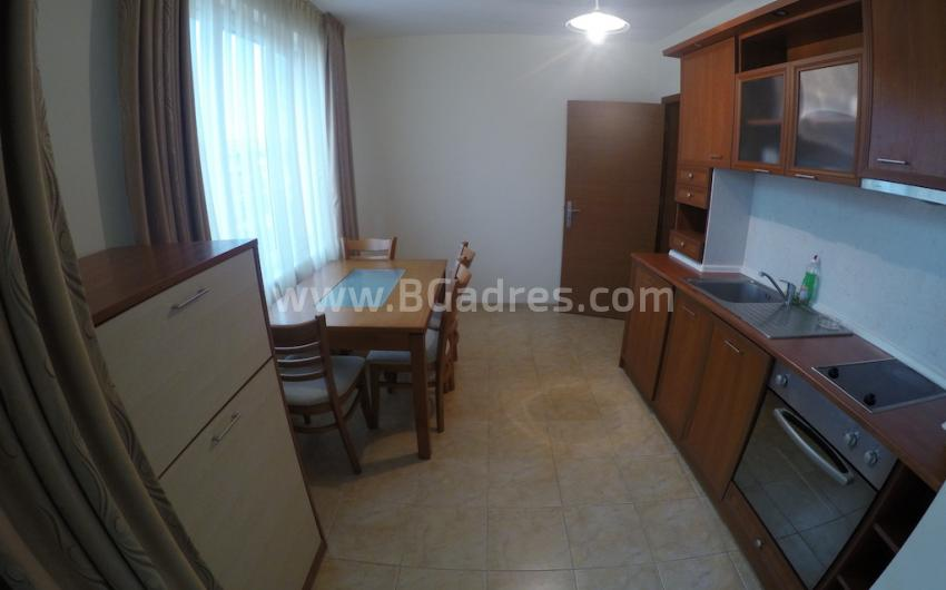 Large one-bedroom apartment near the beach in Ravda