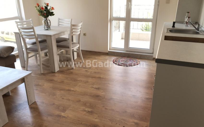 One-bedroom apartment without maintenance fee in Nessebar