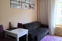 Studio with nice furnishings in Sunny Beach, cheap price